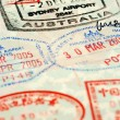 Stock Photo: Passport background
