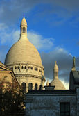Sacre Coeur domes — Stock Photo