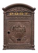 Antique postbox — Stock Photo