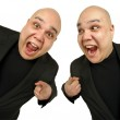 Two happy to see you — Stock Photo