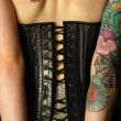 Leather corset — Stock Photo #3247694