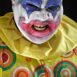 Evil clown — Stock Photo