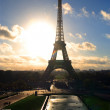 Eiffel Tower sunrise — Stock Photo #3248211