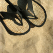 Stock Photo: Beach sandals