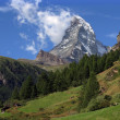 Matterhorn landscape — Stock Photo