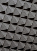 Studio acoustic foam — Stock Photo