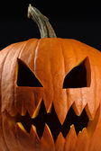 Evil pumpkin for halloween — Stock Photo