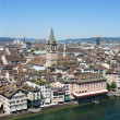 Zurich and the Limmat river — Stock Photo #3266651