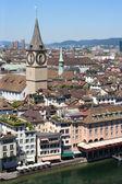 City of Zurich, Switzerland — Stock Photo