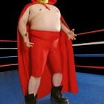 Mexican wrestler — Stock Photo