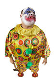 Psycho clown met bijl — Stockfoto