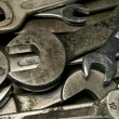 Old wrenches — Stock Photo