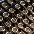 Old typewriter — Stock Photo #3601836