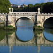 Bridge in Rome — Stock Photo