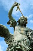 Statue of St. Michael — Stock Photo