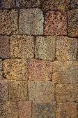 Ancient block wall — Stock Photo