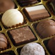 Chocolates in a box — Stock Photo #3664488