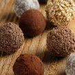Chocolate truffles — Stock Photo #3664504