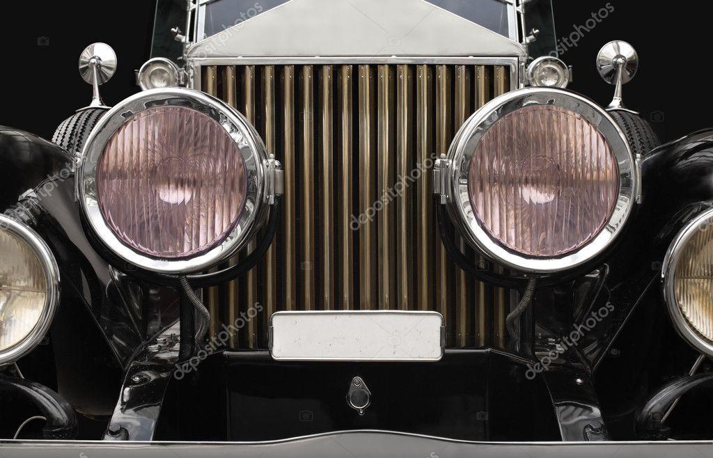 Faros de coches antiguos fotos de stock sumners 3664389 - Como pulir faros de coche ...