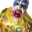 Creepy clown — Stock Photo