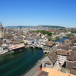 Cityscape of Zurich Switzerland - Stock Photo