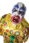 Creepy clown — Stock Photo