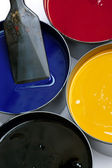 Printing inks — Stock Photo