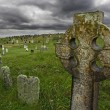 old celtic gravesite — Stock Photo