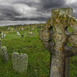Stock Photo: old celtic gravesite