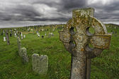 Old Celtic gravesite — Stock Photo