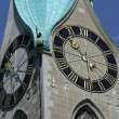 Zurich clocktower — Stock Photo