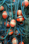 Tangled fishing nets — Stock Photo