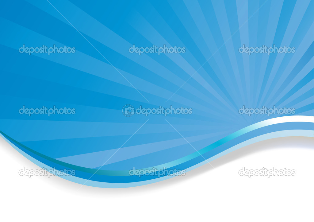 Abstract blue background. Clip-art — Stock Vector #3280551