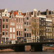 Amsterdam City Life — Stock Photo