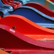 Colored Boats — Stock Photo