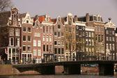 Amsterdam City Life — Stock Photo