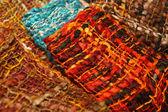 Gekleurde stof — Stockfoto