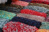 Colored Fabric — Stock Photo