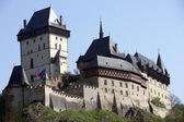 Grand View of Karlstejn Castle — Stock Photo