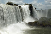 Glory of Iguazu Falls — Stock Photo
