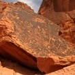 Petroglyphs of Valley Of Fire — Stock Photo