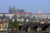 Prague Castle View — 图库照片
