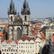Stock Photo: Open Square In Prague