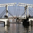 DrawBridge Of Amsterdam — Stock Photo #3218696