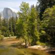 In Shadow Half Dome — Stock Photo