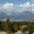 Majesty of Grand Teton — Stock Photo