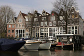 Amsterdam Canal Access — Stock Photo