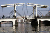DrawBridge Of Amsterdam — 图库照片