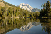 Grand teton wilderness riflettente — Foto Stock