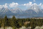 Majesty of Grand Teton — Stock Photo